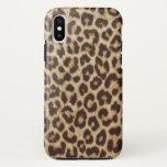 Leopard Print Case-mate Tough Iphone X Case at Zazzle