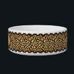 "Leopard Print Cat Pet Bowls<br><div class=""desc"">A cute leopard pattern cat bowl that&#39;s great for your sassy kitty!</div>"
