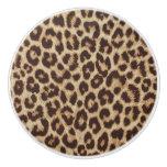 Leopard Print Ceramic Knob