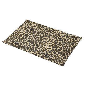 Leopard Print Cloth Placemat