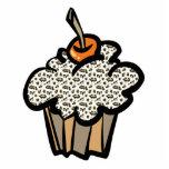 leopard print cupcake cut outs