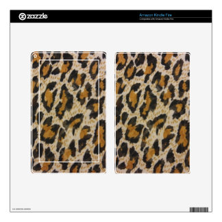 Leopard Print Decals For Kindle Fire
