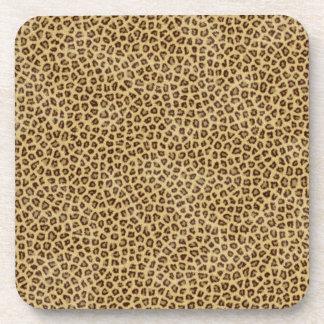 Leopard Print Drink Coasters