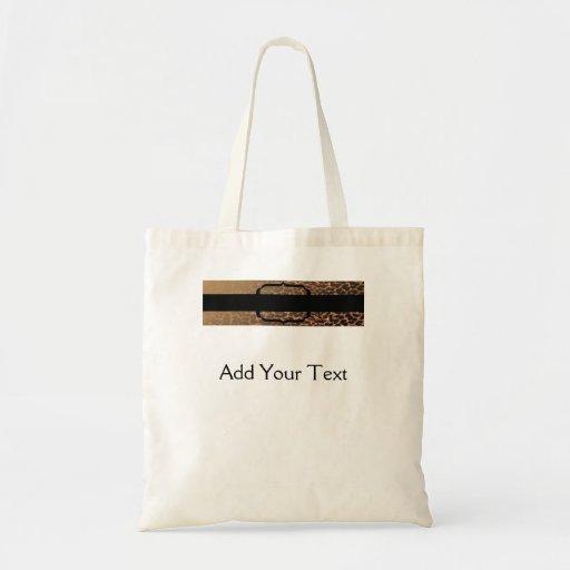 Leopard Print Elegance Bag