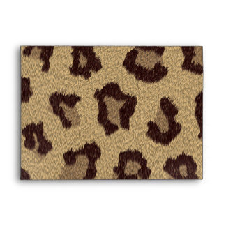 Leopard Print Envelope
