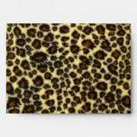 Leopard Print Envelopes