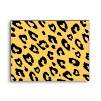 Leopard print envelopes | Exotic animal pattern