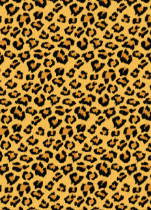 818aa0f2f1b0 Leopard Print Faux Fur Animal Skin All-Over-Print T-Shirt