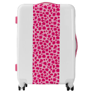 Leopard Print - Fuchsia and light pink Luggage