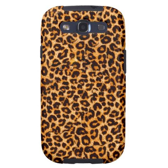 Leopard Print Galaxy Cases