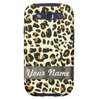leopard print galaxy SIII cover