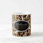 Leopard Print Hair & Beauty Coffee Mug