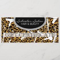 Leopard Print Hair & Beauty Gift Certificate