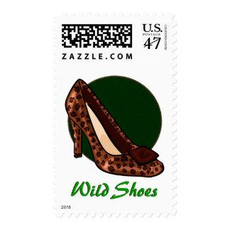 Leopard-print Heels Postage