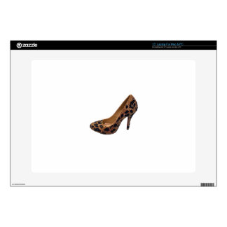 Leopard Print High Heel Shoe Pump Laptop Skins