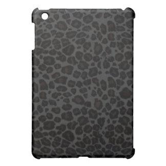 Leopard Print iPad Case (Black)