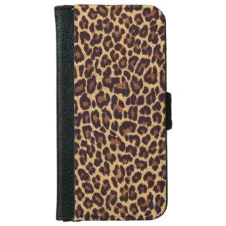 Leopard Print iPhone 6/6s Wallet Case