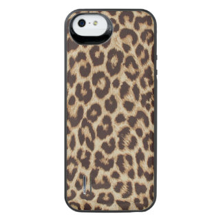 Leopard Print Uncommon Power Gallery™ iPhone 5 Battery Case