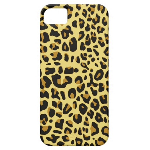 Leopard Print iPhone SE/5/5s Case