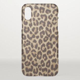 Leopard Print iPhone X Case