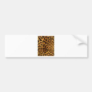 leopard-print.jpg bumper sticker