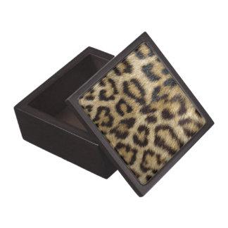 Leopard Print Keepsake Box
