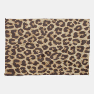 Leopard Print Kitchen Towel