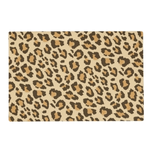 Leopard Print Laminated Placemat at Zazzle