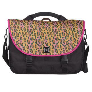 Leopard Print Laptop Computer Bag