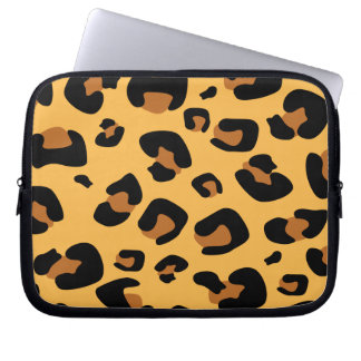 Leopard Print Laptop Computer Sleeves