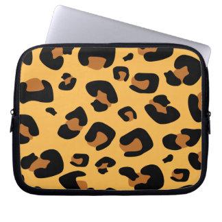 Leopard Print Laptop Computer Sleeves