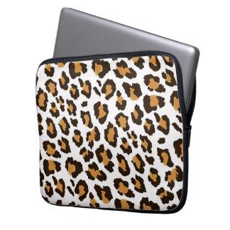 "Leopard Print Laptop Sleeve 13"""