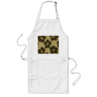 Leopard Print Long Apron