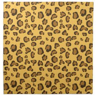 Leopard Print Look Like Pattern Cloth Napkin