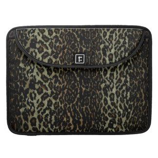 Leopard Print Macbook Pro Sleeve For MacBooks