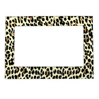 Leopard Print Magnetic Photo Frame