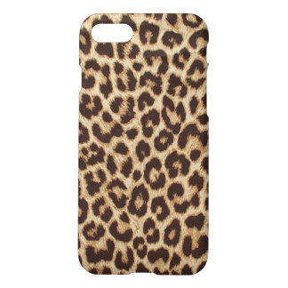 Leopard Print Matte Finish iPhone 7 Case