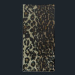 "Leopard Print MoJo Napkin<br><div class=""desc"">By Golden Odyssey For Moon Art and Designs. Customizable to fit your needs.</div>"