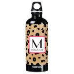 Leopard Print Monogram SIGG Traveler 0.6L Water Bottle