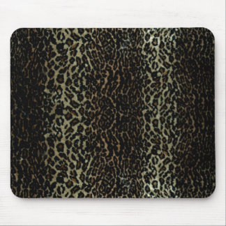 leopard print, Mouse Pad