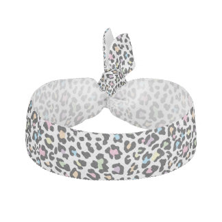 Leopard Print Multi Colors Elastic Hair Tie