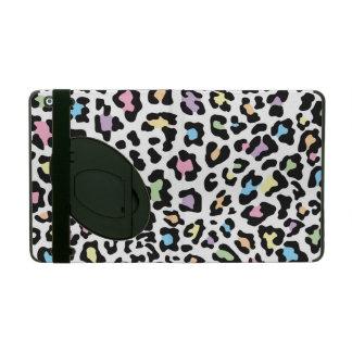 Leopard Print Multi Colors iPad Covers