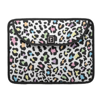 Leopard Print Multi Colors Sleeves For MacBooks