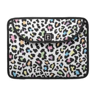 Leopard Print Multi Colors Sleeve For MacBook Pro