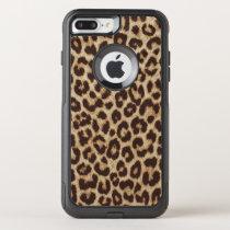 Leopard Print OtterBox Commuter iPhone 7 Plus Case