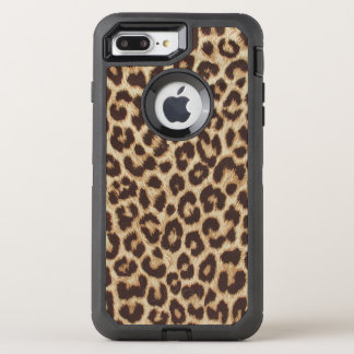 Leopard Print OtterBox Defender iPhone 7 Plus Case