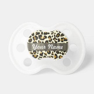 leopard print pacifier
