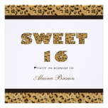 Leopard Print Party Invitations