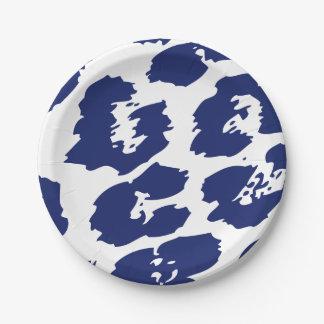 Leopard Print Party Plates