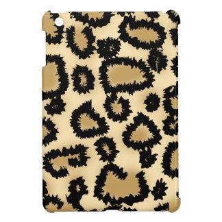 Leopard Print Pattern, Brown and Black. iPad Mini Case